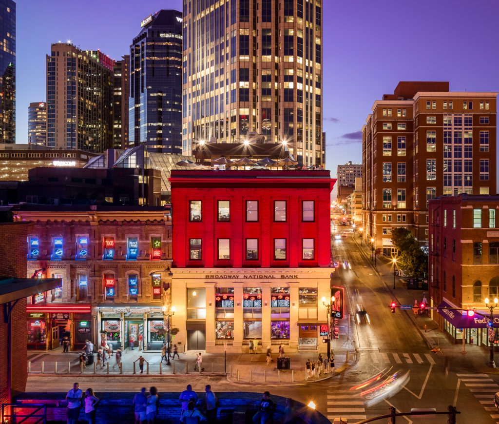 Nashville Architects: Ole Red Restaurant In Nashville, TN